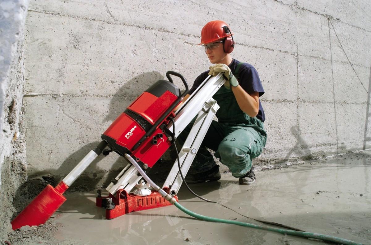 фер сверление отверстий в бетоне